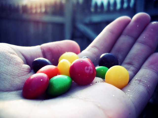 candy-colours-glitter-hand-skittles